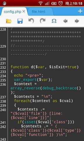 Editor Web Untuk Perangkat Android