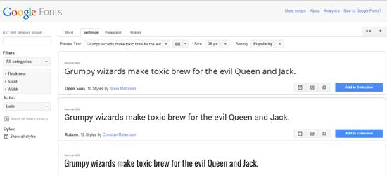 Tips Menggunakan Google Font API