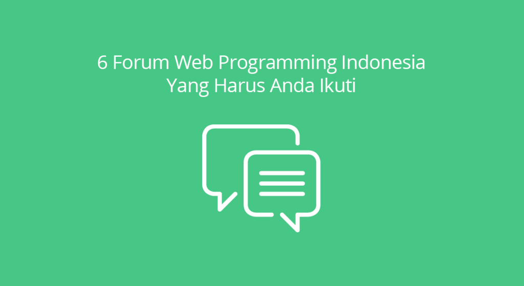 Forum Web Programming Indonesia