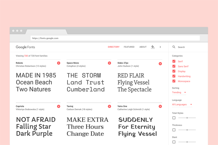 Cara Menggunakan Google Fonts