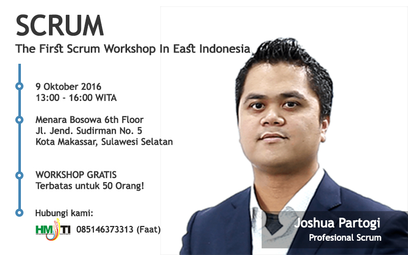 Workshop Scrum Makassar