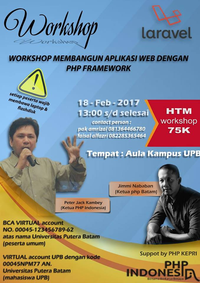 Banner Workshop Laravel Batam