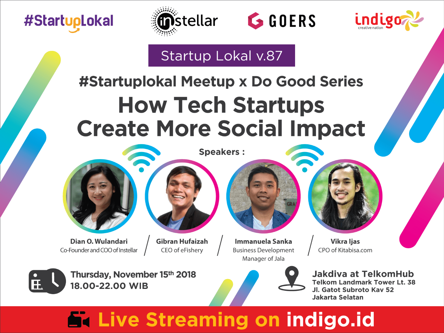 Startuplokal x Do Good Series Meetup v.87