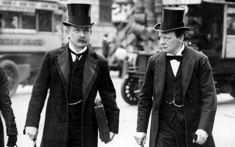 David Lloyd James and Winston Churchill