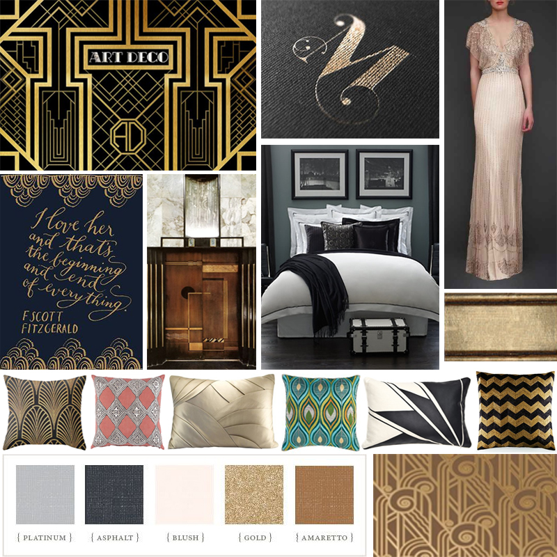 Great gatsby bedroom ideas