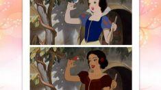 Artista muda a etnia de personagens da Disney