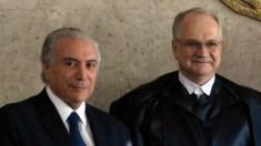 Fachin suspende inquérito contra Michel Temer no STF