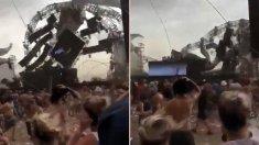 DJ brasileiro morre após colapso de palco em festival atingido por ventania