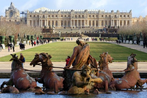 Versailles vom Park aus gesehen.  Foto: AFP Photo/Pierre Verdy