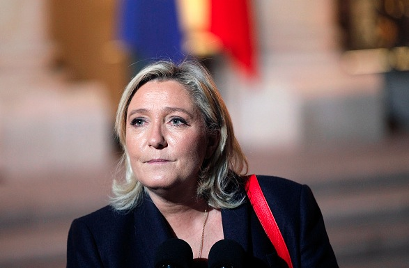 Marine Le Pen  Foto: Thierry Chesnot/Getty Images