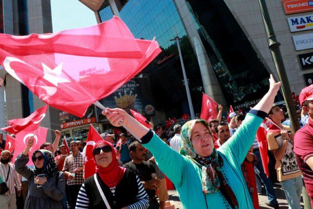 Ankara 16 .Juli 2016 Foto: ADEM ALTAN/AFP/Getty Images