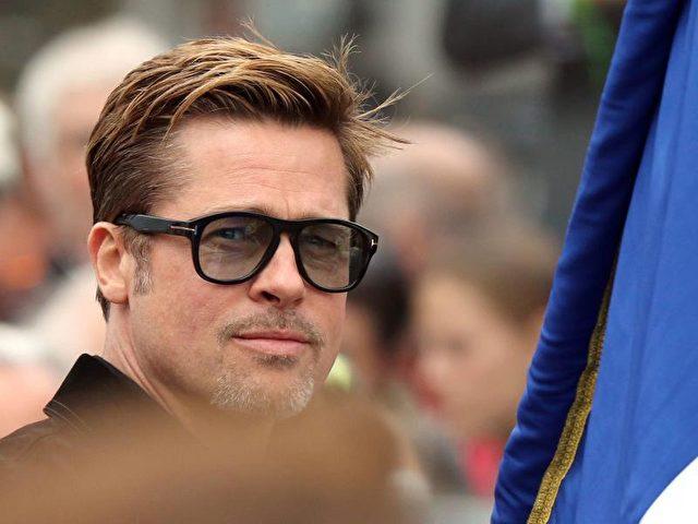 Ende eines Traumpaares und FBI - schwere Zeiten für Brad Pitt. Foto:Eddy Lemaistre/dpa