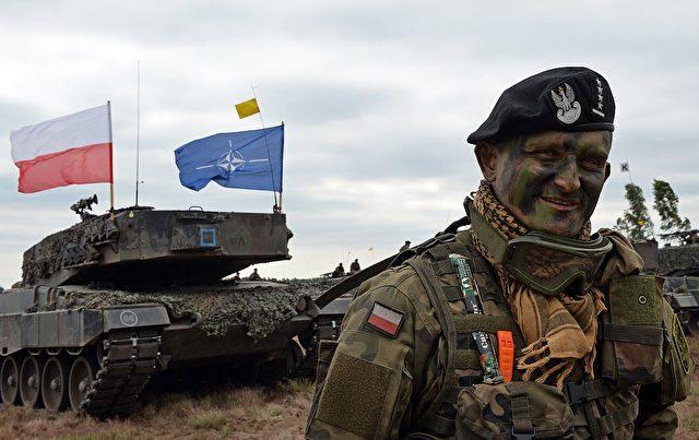 Die Nato in Polen Foto: JANEK SKARZYNSKI/AFP/Getty Images