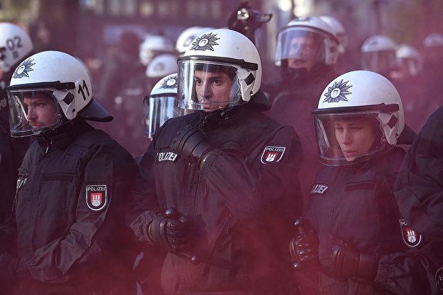 Polizei in Hamburg Foto: Alexander Koerner/Getty Images