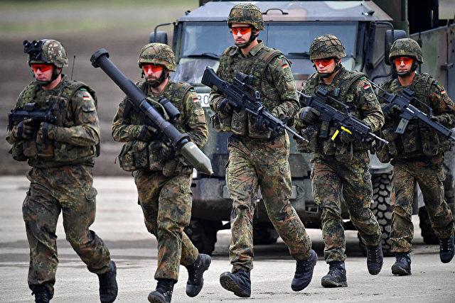 Deutsche Bundeswehr. Foto: Alexander Koerner/Getty Images
