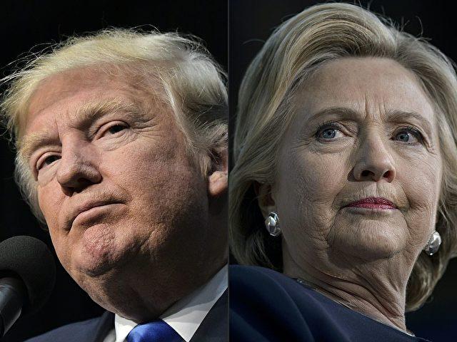 Donald Trump und Hillary Clinton. Foto: MANDEL NGAN,BRENDAN SMIALOWSKI/AFP/Getty Images