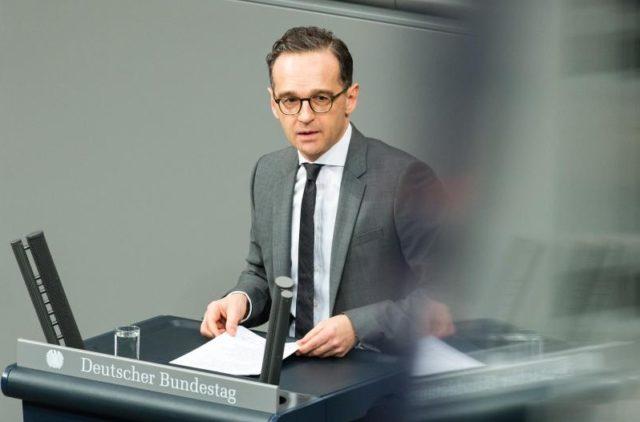 Bundesjustizminister Heiko Maas will härtere Strafen für Wohnungseinbrüche. Foto: Sebastian Gollnow/dpa