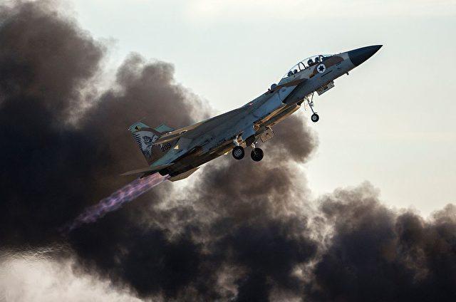 Israelischer F-15 Kampfjet. (Symbolbild) Foto: JACK GUEZ/AFP/Getty Images