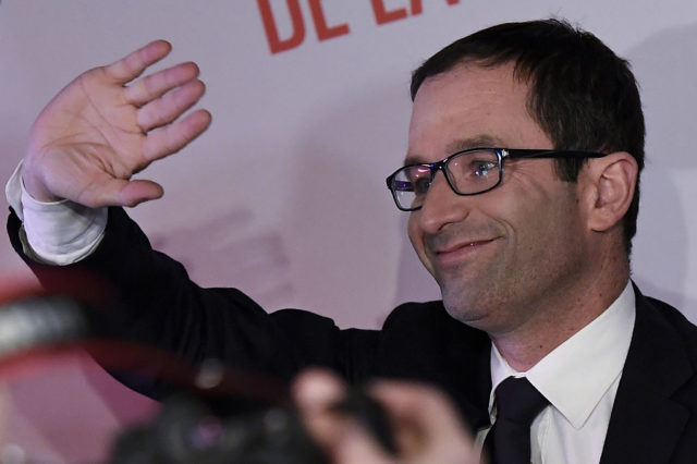 Benoit Hamon. 22. Januar 2017, Frankreich. Foto: BERTRAND GUAY/AFP/Getty Images