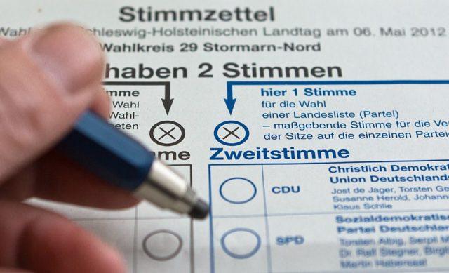 Stimmzettel Foto: Markus Scholz/AFP/GettyImages