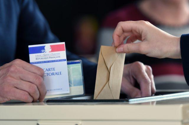 Die Präsidentschaftswahl in Frankreich hat begonnen. Foto: FREDERICK FLORIN/AFP/Getty Images