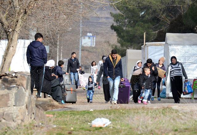 Flüchtlinge in der Türkei. Foto: ILYAS AKENGIN/AFP/Getty Images