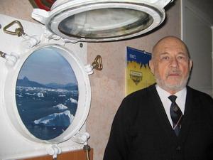 Юрий Александров председатель региональной ветеранской организации «Полярный конвой»