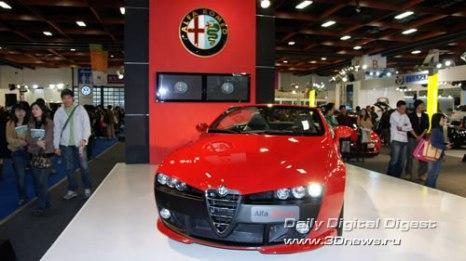 Стенд Alfa-Romeo. Spider. Фото: 3dnews.ru