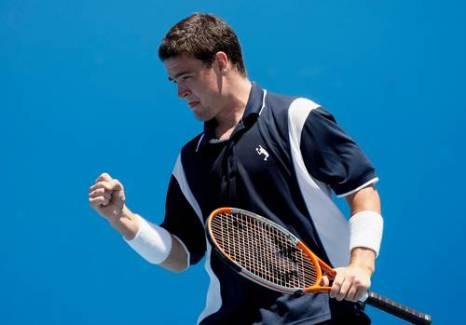Джейми Бейкер (Великобритания) (Jamie Baker of Great Britain) во время открытого чемпионата Австралии по теннису. Фото: Quinn Rooney/Getty Images