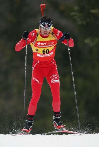 В Рупольдинге (Германия) в рамках пятого этапа Кубка мира по биатлону прошла мужская спринтерская гонка на 10 км. Фото: OLIVER LANG/AFP/Getty Images