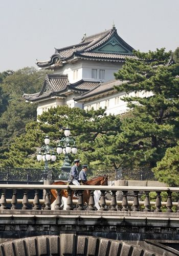 Императорский дворец, построенный в 15-м веке. Фото: YOSHIKAZU TSUNO/AFP/Getty Images