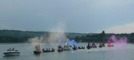 Парад лодок. Фото: Елена Захарова/Великая Эпоха