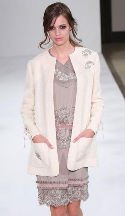 Показ коллекции Carven «Весна-лето 2008» на неделе высокой моды в Токио. Фото: Getty Images