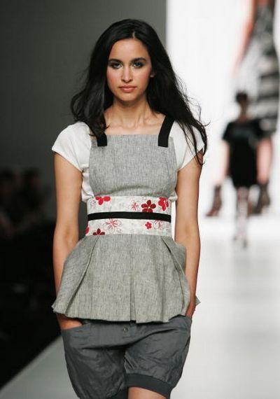 Коллекция одежды от дизайнера Body. Фото: Gaye Gerard/Getty Images
