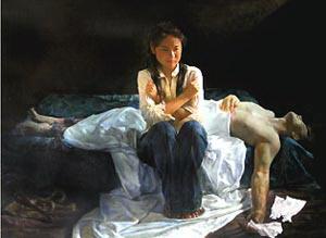 Картины, представленные на выставке