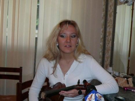 Полина Лаптева перед концертом. Фото: Елена Захарова/Великая Эпоха