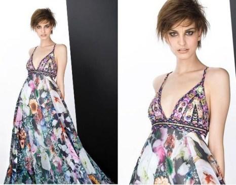 Парадные платья с мягкими складками 2008. Фото с efu.com.cn