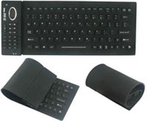 Гибкая клавиатура. Фото с сайта usbfever.com