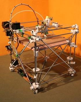 Прототип системы RepRap. Фото с сайта проекта