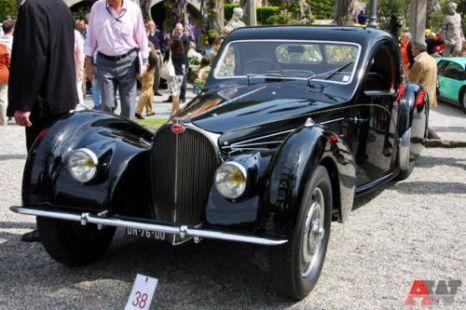 Bugatti 57 SC Atalante 2-door Coupe Gangloff (1937). Фото: autoweek.ru