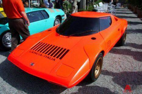 Lancia Stratos Coupe Bertone (1970). Фото: autoweek.ru