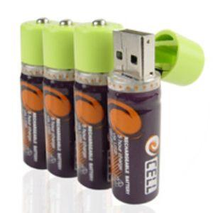 Батарейки заряжаются от USB. Фото: chinavasion.com