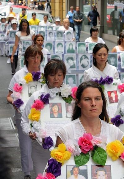 Шествие последователей Фалуньгун. Мельбурн, Австралия. 3 декабря 2009 г. Фото: Чен Мин/The Epoch Times
