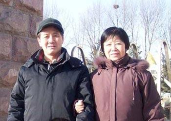 Профессор Чжан Сину с супругой. Фото с сайта epochtimes.com