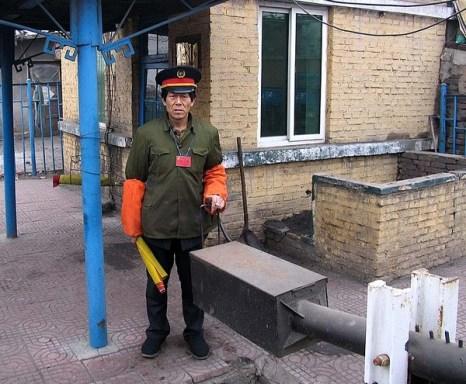 Рабочий ж/д станции г.Фушунь провинции Ляонин. Фото: heralan
