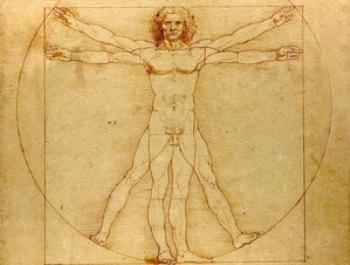 Человеческое тело, как чудесное творение, непостижимо даже современной наукой. Автор: Леонардо да Винчи