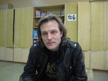 Дмитрий Дунаев - руководитель детского театра с одноименным названием. Фото: Светлана КИМ/Великая Эпоха