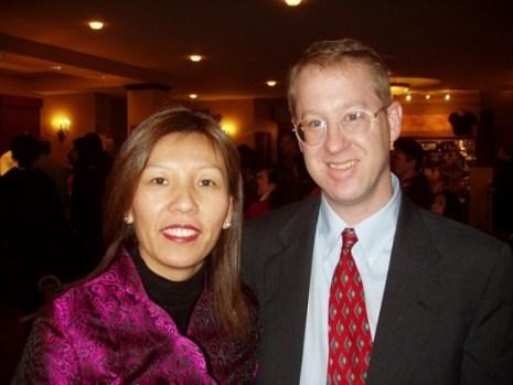 Сесилия Бирдж, вице-мэр городка Монтгомери, и её муж