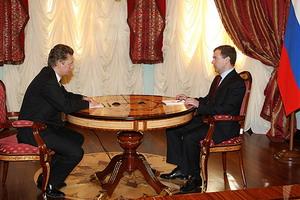 Президент выразил позицию России относительно газового конфликта с Украиной. Фото: Rusk.ru