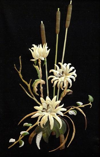 Хризантемы рогоз Титова. Фото предоставленно музеем